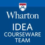 Wharton IDEA courseware team logo